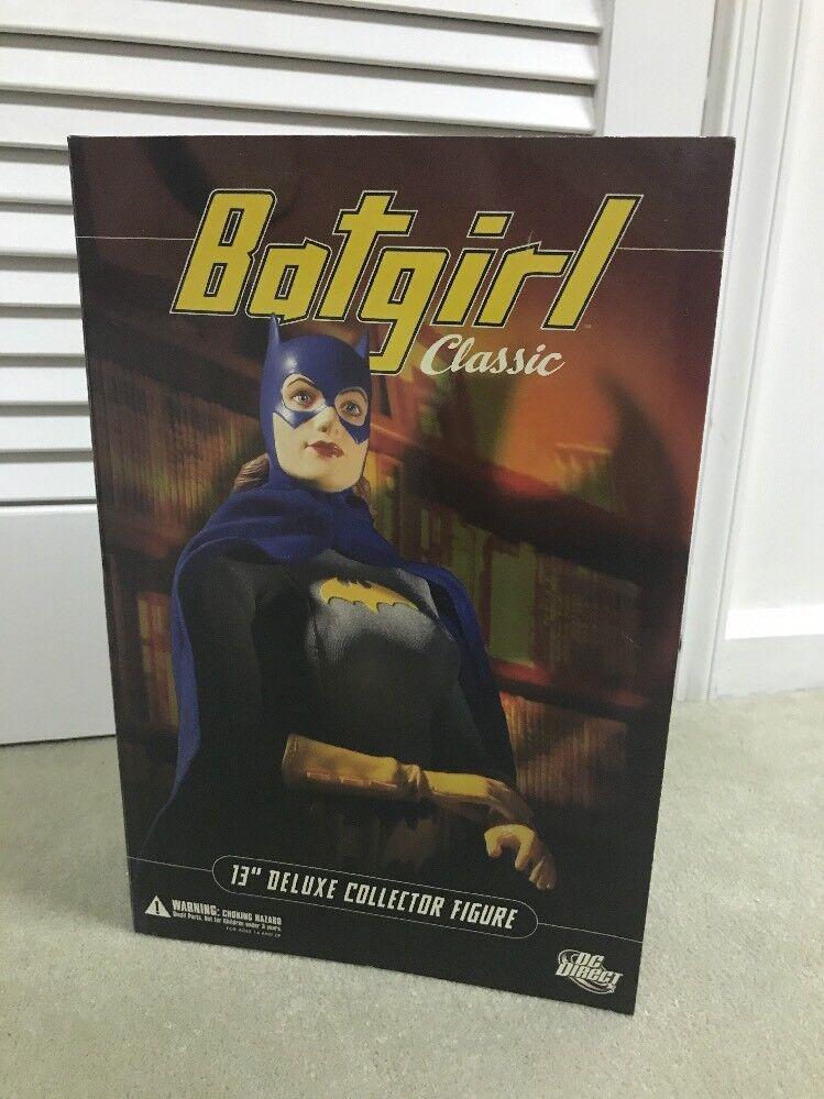 DC Direct  13  Classic Batgirl Deluxe coleccionista Fig. MIB
