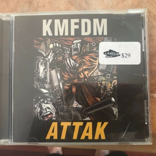 1 of 1 - Attak by KMFDM (CD, Mar-2002, Metropolis)