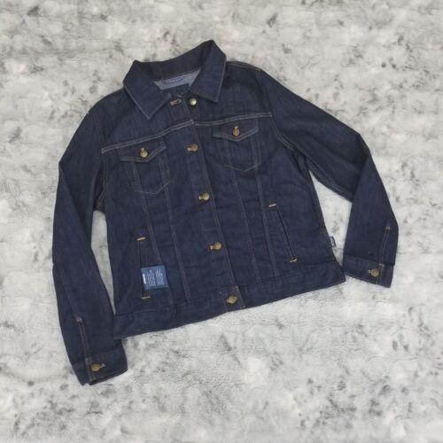 Mørke Økologisk Vask Nwt Jeans Slim Fit Patagonia Kvinders Jacket Xl Denim Cotton OUqgIU