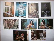 Lotto 9 Cartoline # MARIANI # SARRI # TOGLIANI # MAROTO # SAURI # PICHARD