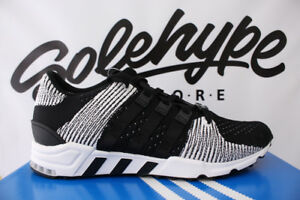 on sale 7d9ae c86e1 Image is loading ADIDAS-EQT-SUPPORT-RF-PRIMEKNIT-CORE-BLACK-RUNNING-
