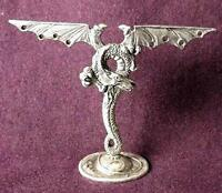 Dragon Earring Holder - Pewter Made In The Usa