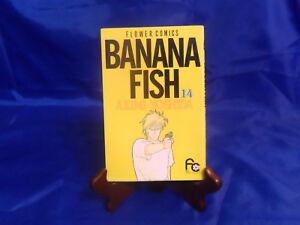 Manga BANANA FISH Vol. 14 Akimi Yoshida, Flower Comics (Japanese) Anime