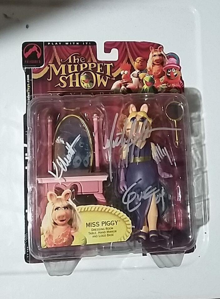 Miss piggy muppet show - reihe 1 haar signiertes exemplar palisades spielzeug