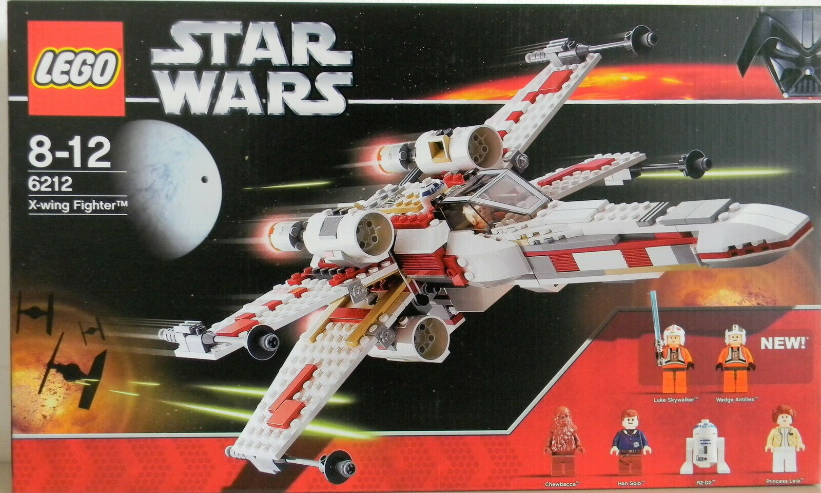 LEGO® STAR WARS™ 6212 X-WING FIGHTER  NEU & OVP