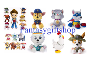 paw patrol friends 8 inches plush your choice characters brand new w tags ebay. Black Bedroom Furniture Sets. Home Design Ideas