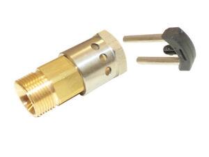 Schlauchadapter-adapter-fuer-11mm-Stecknippel-auf-3-8-034-AG-mit-Clip-fuer-Kaercher-HD