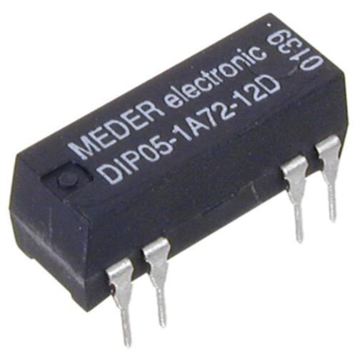 diode parallèle Meder Dip051a7212d reed-relais 5v = 1xein 500 ohms
