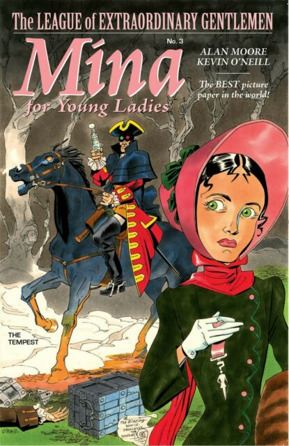 League of Extraordinary Gentlemen THE TEMPEST #3 by Alan Moore & Kevin O'Neill