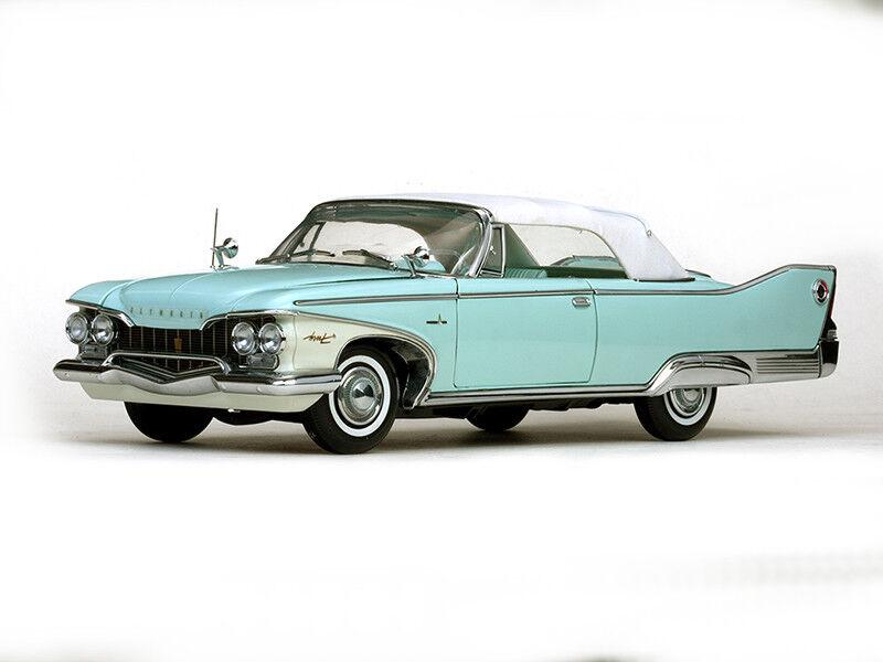 1960 Plymouth Fury closed converdeible turquesa 1 18 Sun Star 5411 converdeible Aqua Mist