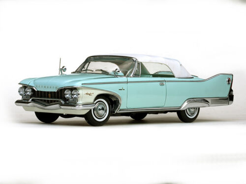 1960 Plymouth Fury Closed Convertible türkis 1:18 Sun Star 5411 Cabrio Aqua Mist