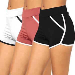 Sexy-Women-Girls-Short-Pants-Sport-Trousers-Pants-Running-Summer-Beach-Shorts-LC