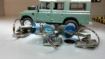 Land Rover Series 3 Antiburst Door Lock Barrel /& Keys 395141 Matching Set Pair