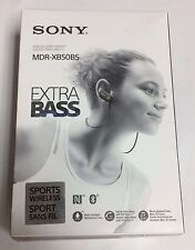 Sony MDR-XB50BS In-ear Wireless Stereo Headset Hands-free - BLACK - NEW
