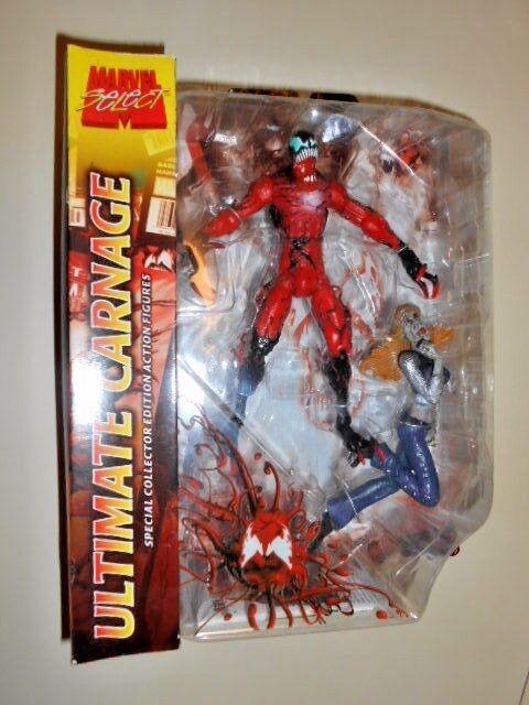 Ultimate Carnage (Edición Limitada) Gwen Stacey (MARVEL seleccionar) Figuras de acción