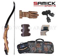 Samick Sage Take Down Recurve Bow 55# Starter Kit Package Right Handed