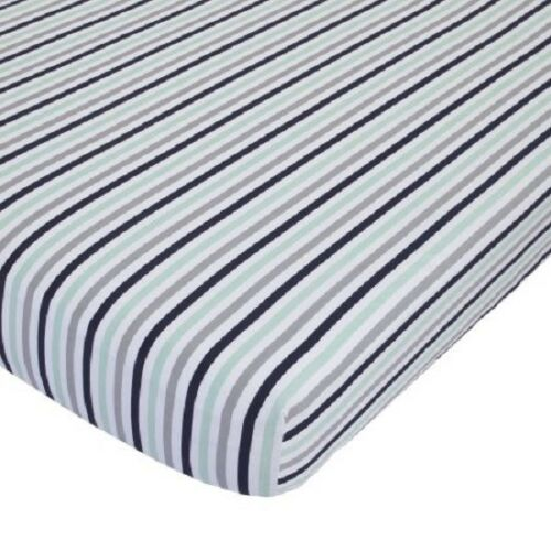 Child of Mine by Carter/'s Cars Baby  Crib Fitted Sheet only Stripes