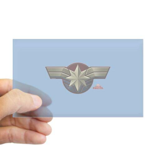 402960092 CafePress Captain Marvel Sticker Rectangle Bumper Sticker Car Decal