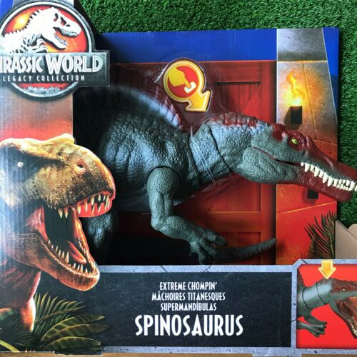 JURASSIC WORLD Legacy Collection EXTREME chompin /'SPINOSAURUS Giocattolo Parco dei Dinosauri