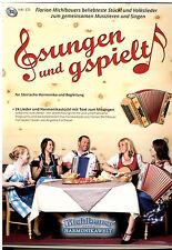 Steirische Harmonika Noten : Gsungen und Gspielt - Set mit 2 Liederbüchern m. CD