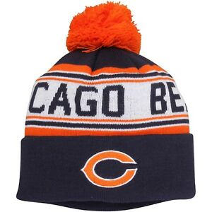 Image is loading Chicago-Bears-NFL-Outerstuff-Youth-Boys-Knit-Beanie- 9bf5dc948