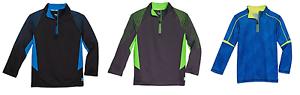 NEW-ASICS-Boy-039-s-1-4-Zip-Top-Pullover-Shirt-Jacket-VARIETY