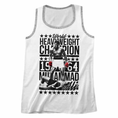 Muhammad Ali Heavyweight Champion 1964 Men/'s Tank Top Boxing Fighter Muscle Vest