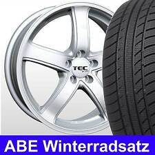 "16"" ABE Winterräder ASA AS1 CS Winterreifen 205/55 für Mercedes A-Klasse 176"