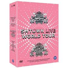 Korea Music SM TOWN - Live World Tour in Seoul DVD (5 discs) (DVDMU278)