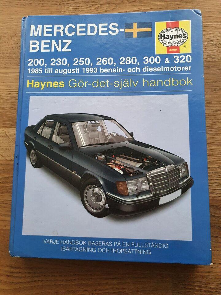 Reparationshåndbog, Mercedes benz