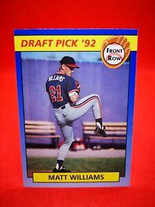 Front Row 1992 carte card Baseball MLB NM+/M S.F Giants #53 Matthew Williams