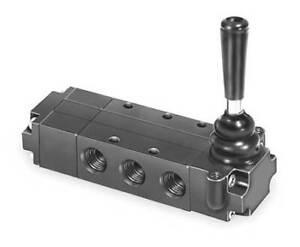 Parker 521811000 Manual Air Control Valve,4-Way,1/4In Npt