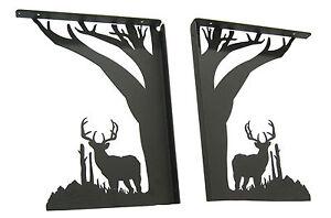 Large-9-034-Buck-Deer-Shelf-Bracket-Set