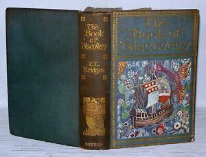The-Book-Of-Discovery-T-C-Bridges-George-G-Harrap-amp-Company-HB-1928