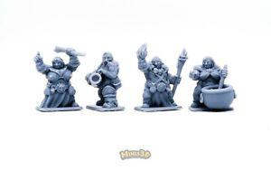 Ogre - Heroquest D&D Gloomhaven - Minis3D