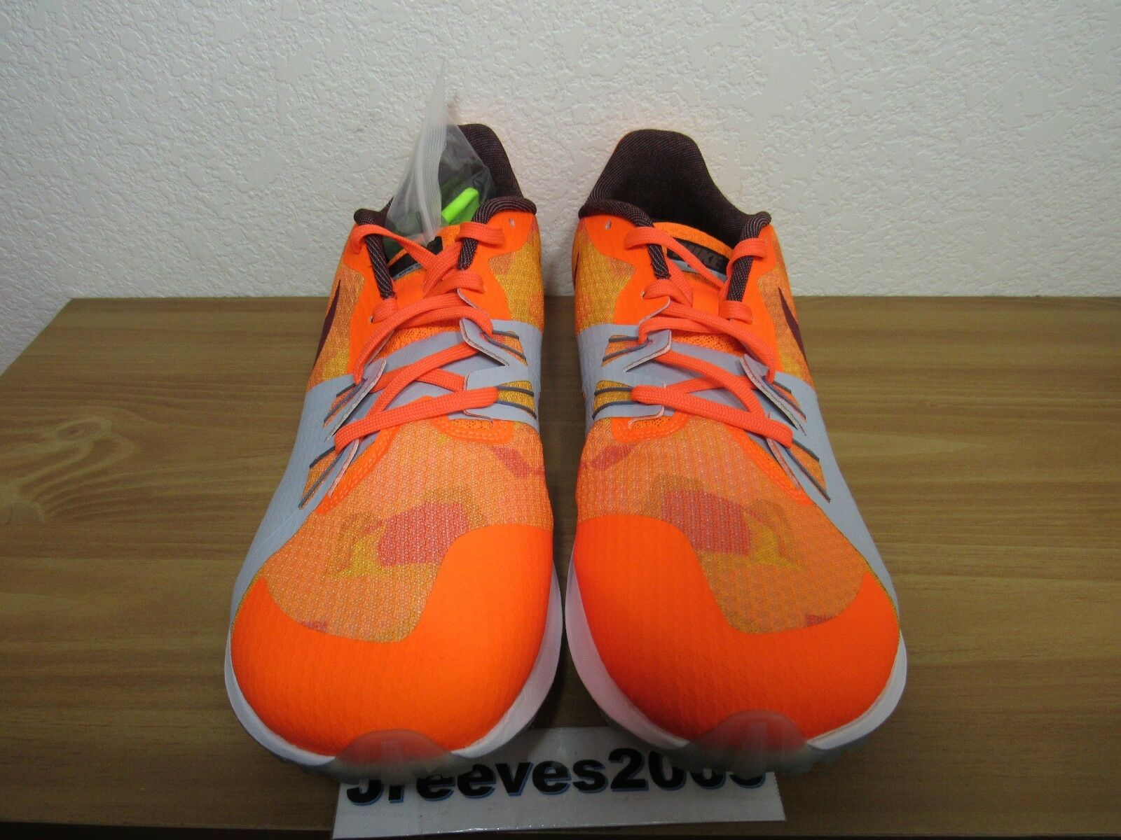 promo code 24def 354aa Nike Zoom Rival XC Mens Spikes Cross Country Racing 904718 806 Orange Size  13 for sale online   eBay