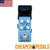Joyo Quattro Ironman Digital Delay Jf-318 Pedal Us Seller Free Shipping