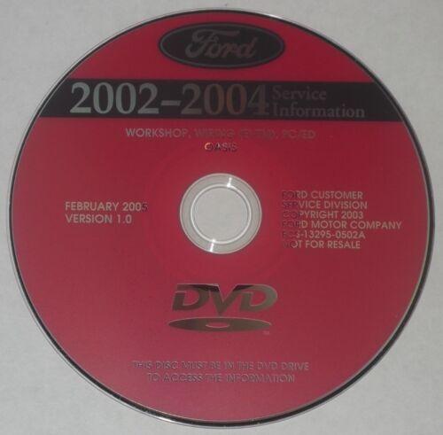 2002 2003 2004 FORD F150 F250 F350 F450 F550 F650 F750 SERVICE WORKSHOP MANUAL