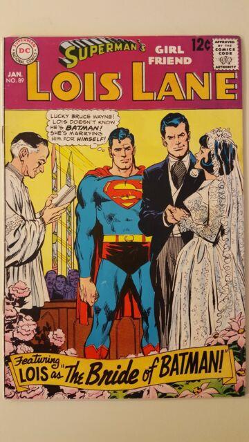Superman's Girl Friend, Lois Lane #89 (Jan 1969, DC).VF or better. High Grade!