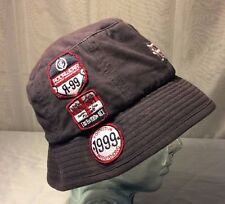 Vtg Rocawear Bucket Hat Cap OSFM Fisherman Hat 90s Hip Hop Patches Embroidered
