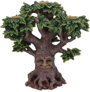 Candle Holder - Forest Flame - Tree Spirit Man Ornament