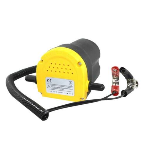 Bomba de aspiración aceite 60 vatios diésel bomba de aceite combustible bomba cambio aceite eléctricamente