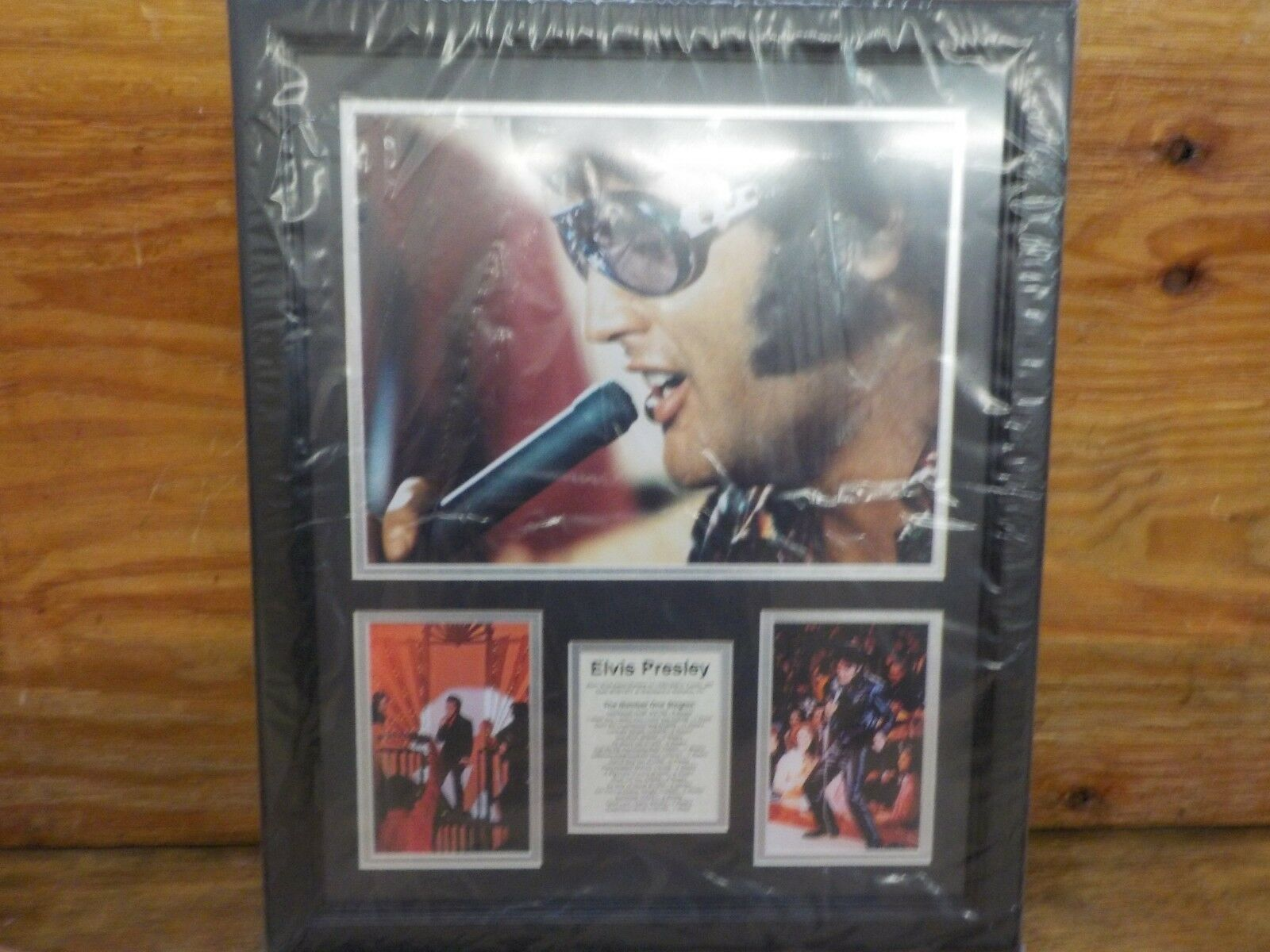 Legends Never Die Harry Caray Framed Photo Collage 11 x 14-Inch