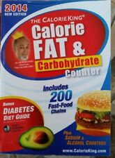 The CalorieKing Calorie Fat Carbohydrate Counter 2014 9781930448582