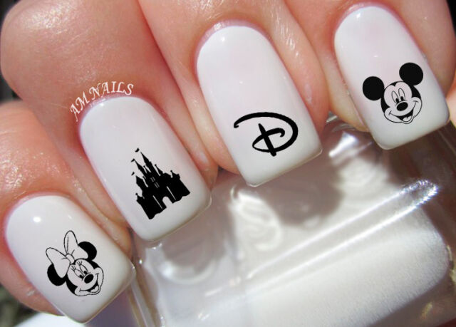 Disney Nail Art Stickers Transfers Decals Set of 50 | eBay