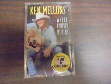"""NEW SEALED """"Ken Melons"""" Where Forever Begins  Cassette Tape (G)"""