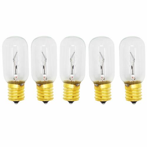 LMV1683SB LMV1831SW 5-Pack ampoule pour LG LMV1683ST LMV2031SB LMV1813ST