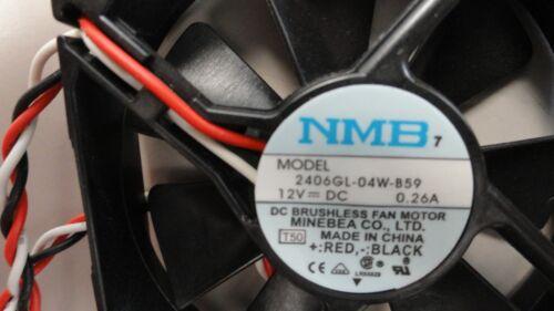 NMB 12V DC Fan 2406GL-04W-B59 5 fans for 1 price!