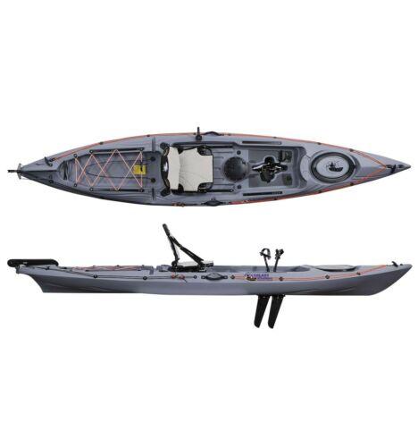 SIT ON TOP GALAXY STURGEON FX FLIPPER PEDAL FISHING KAYAK