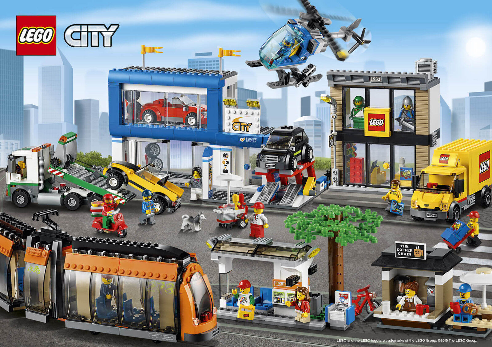 LEGO 60097 City Piazza Piazza Piazza Della Città 5dffb4
